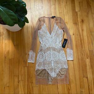 For Love and Lemons mesh lace Antigua dress